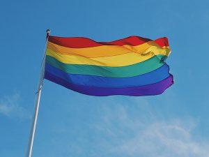 Bandera Gay Arcoiris Grande para exterior